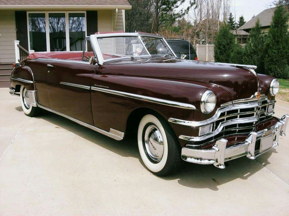 1949 Chrysler New Yorker Convertible With Images American