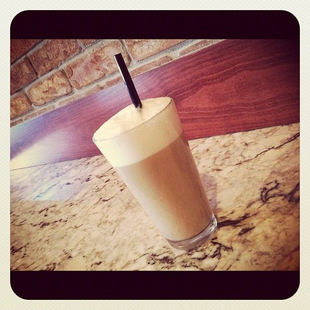 Yummy!! One of our delicious hot #Lattes!