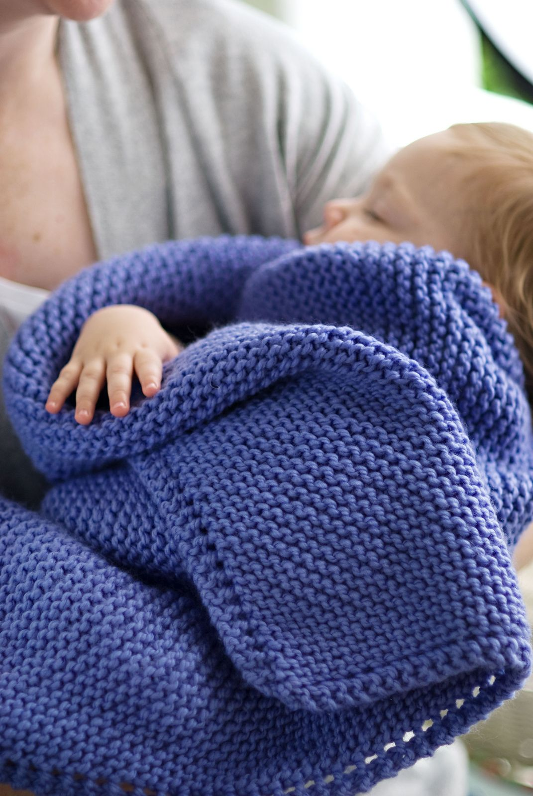 Picot-Edge Baby Blanket & Washcloth pattern by Churchmouse Yarns and ...