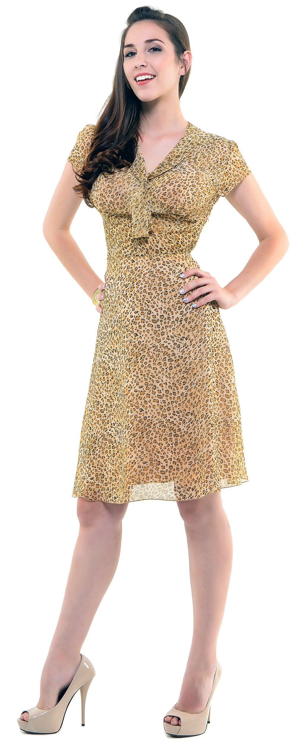 Unique vintage fashion pinterest wiggle dress s and leopards