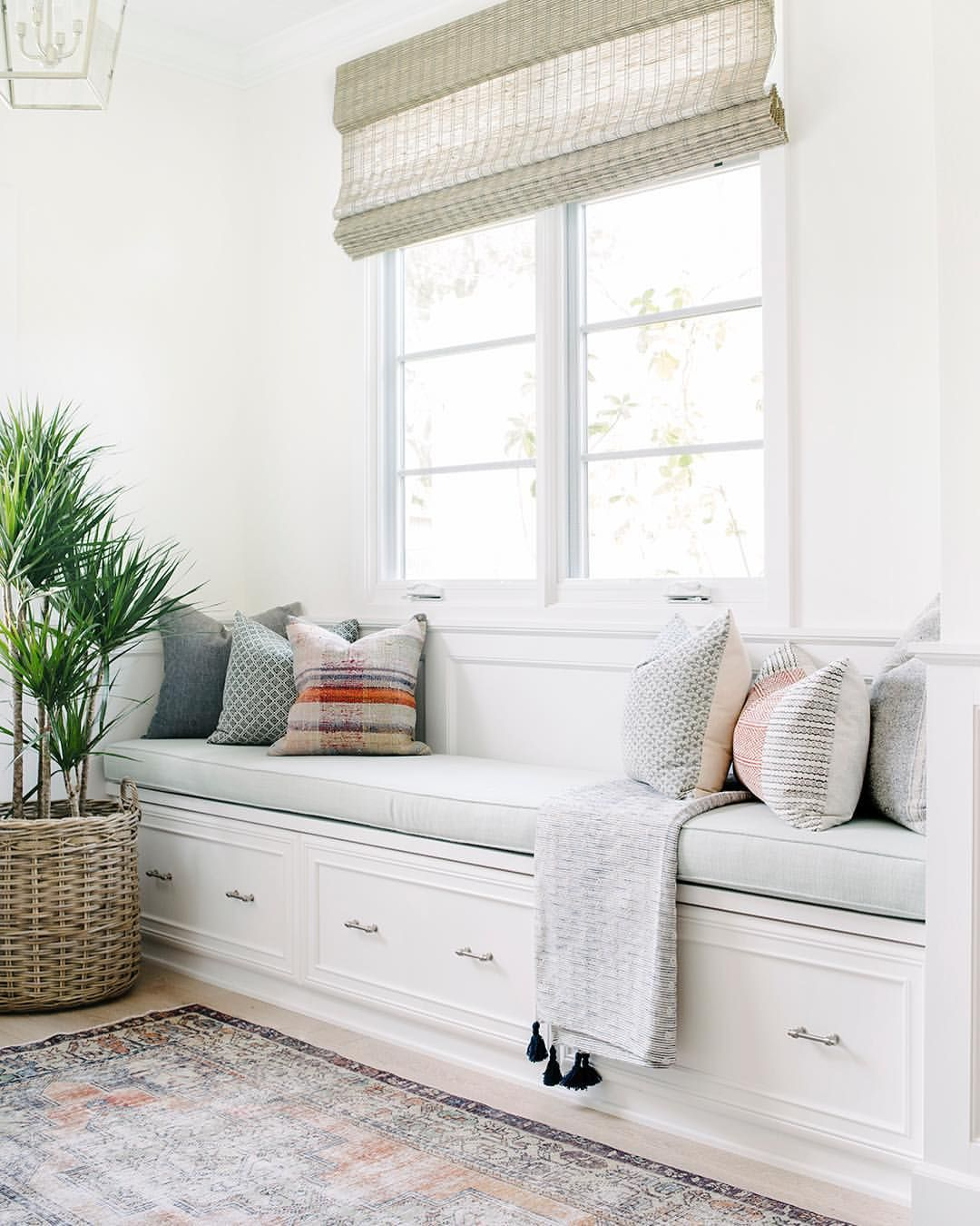 "Bay Window Seat For A Lovely Addition: Kate Lester Interiors On Instagram: ""This Morning, As I"