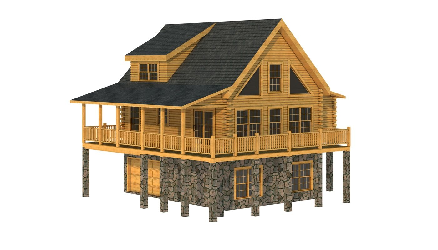 Harnett Plans Information Log Cabin Plans Log Home Plans