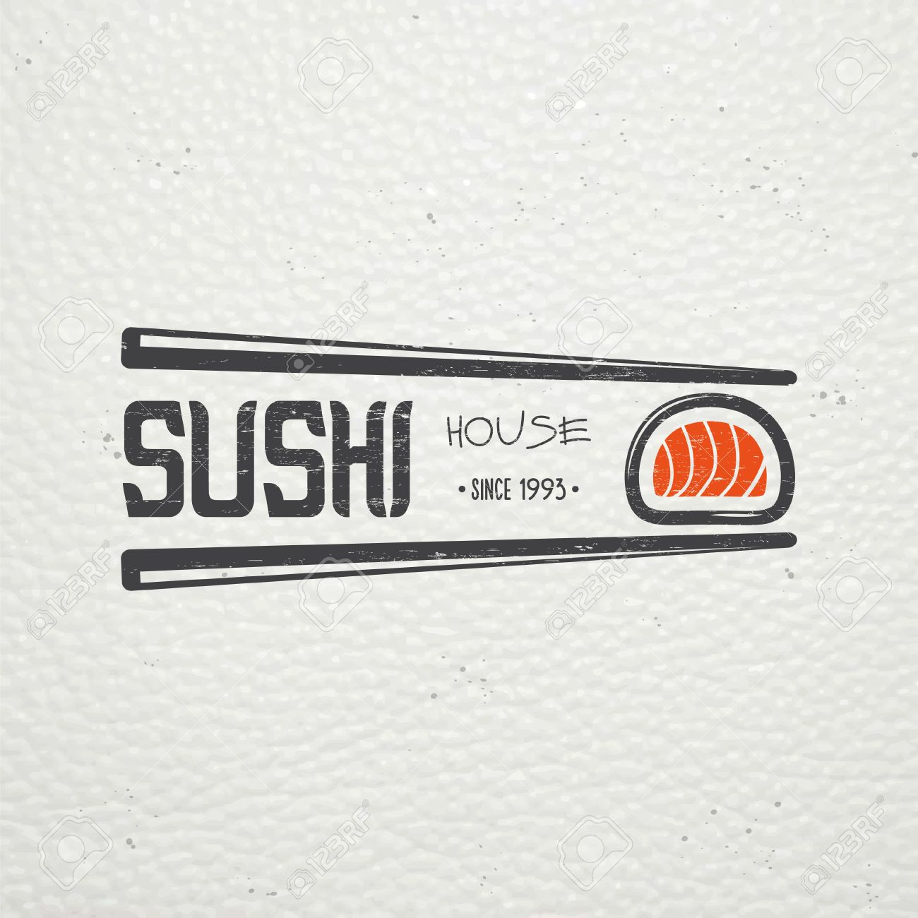 Sushi Et Roule Un Ensemble Cuisine Japonaise Service