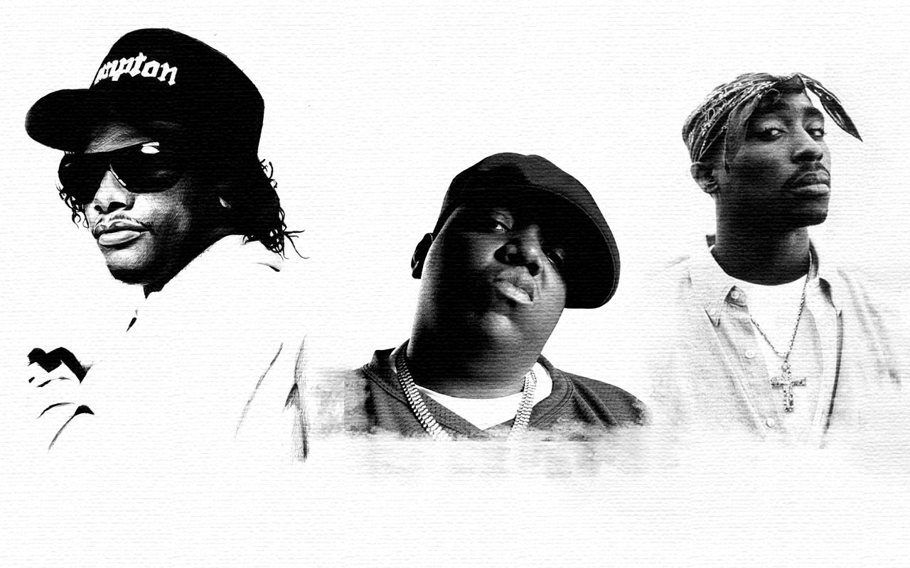 Eazy E Notorious Big Tupac Tupac Tupac And Biggie Notorious Big