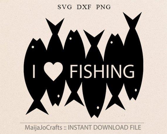 Fishing Svg Cut File Silhouette Svg Cricut Downloads Fish Svg Dfx