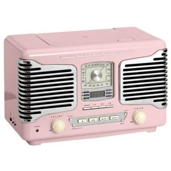 Vintage Retro Radio Pink Bei Heine De Vintage Radio Pink Radio Retro Radios