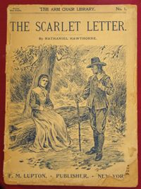 The Scarlet Letter by Nathaniel Hawthorne 1980s