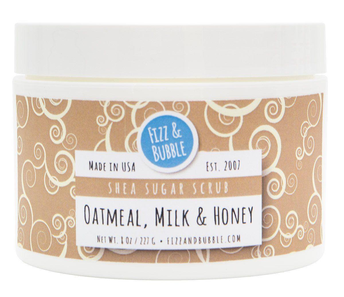 Oatmeal Milk Honey Sugar Scrub
