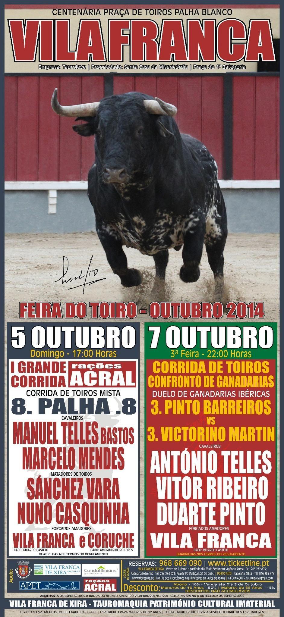 Pátio de Quadrilhas: Cartaz das Corridas da Feira de Outubro em Vila Fr...