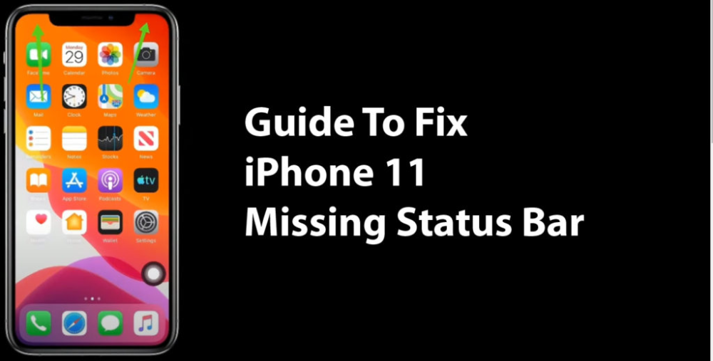 Guide To Fix Iphone 11 Missing Status Bar Iphone 11 Pro Manual User Guide Pdf Iphone 11 User Guide Iphone