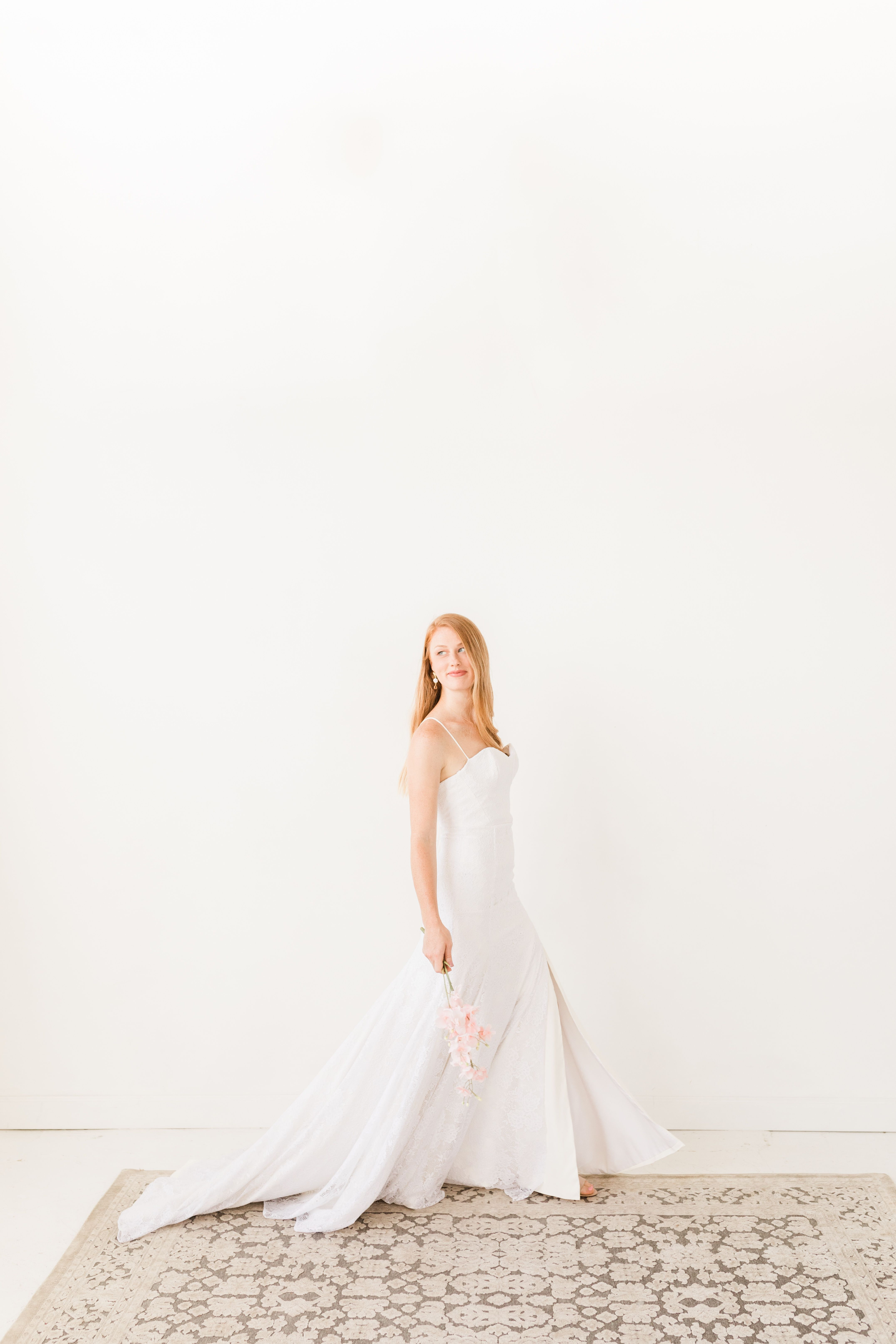 The Charlie Dress From Hyacinth Bridal S 2019 Collection Creative Director Stylist And Planner Perry Rose Media Photo Crepe Wedding Dress Wedding Dresses