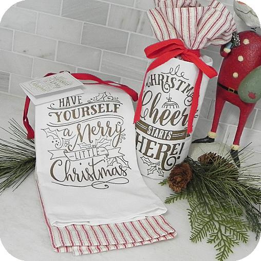 Christmas Kitchen Towel Gift Sets Kitchen Towel Ideas Pinterest