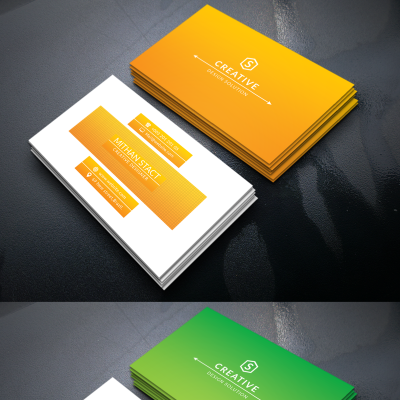 Mithan Stact Personal Business Card Corporate Identity Theme