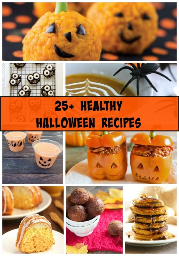 A Healthy Halloween Recipe Roundup filled with lots of ideas for - spooky food ideas for halloween