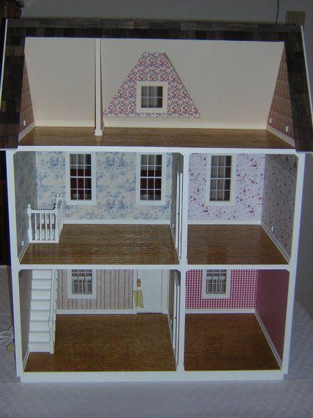 The Vermont Farmhouse Jr Annies Specialties Dollhouse Interior Decorating