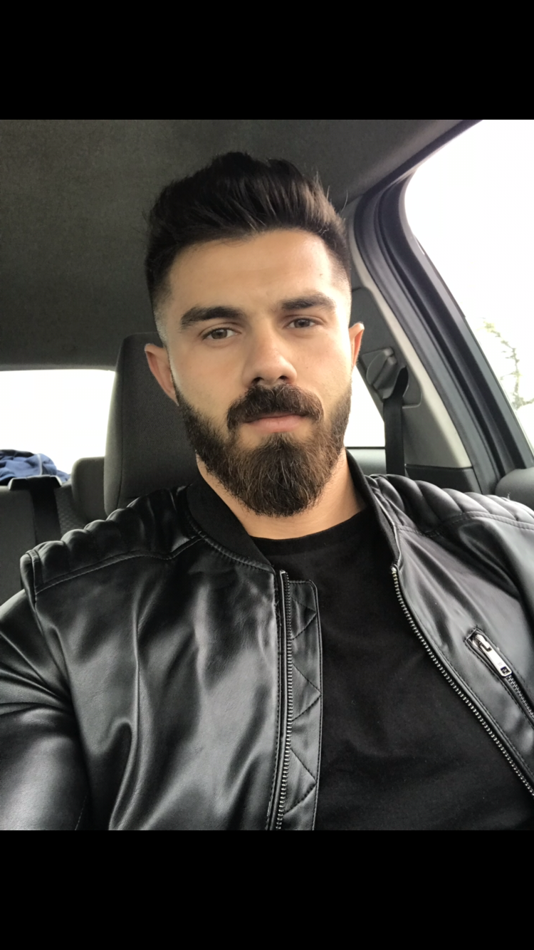 Pin on Beard and Leather