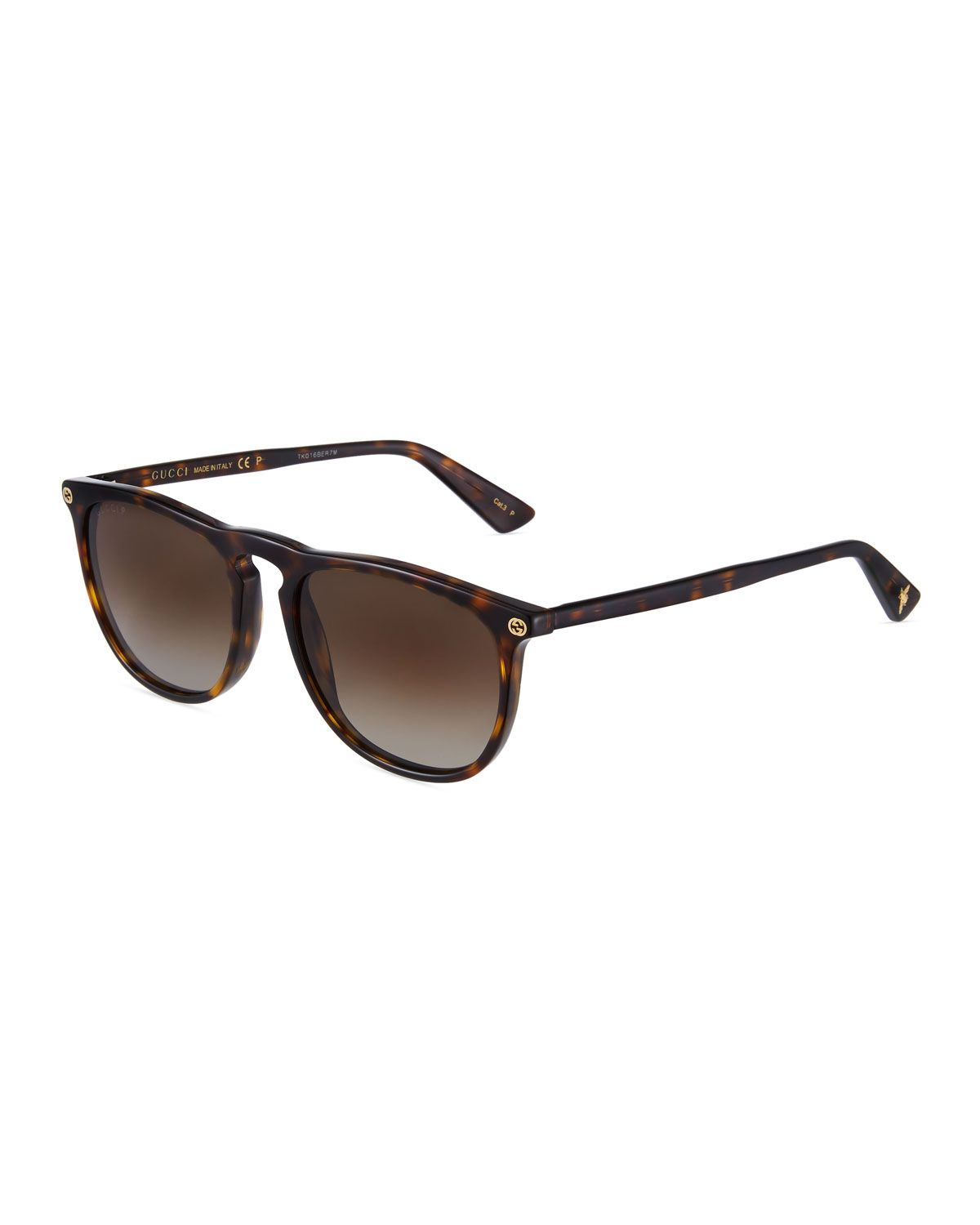 fdff19e406b GUCCI MEN S SQUARE ACETATE PANTOS SUNGLASSES.  gucci