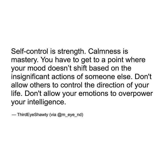 Image Result For Self Control Is Strength Calmness Is Mastery You