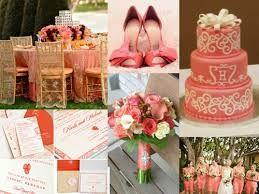 Resultado de imagen para altares de boda al aire libre en color salmon