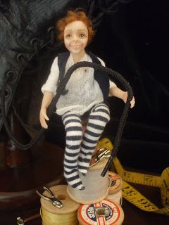 Julie Campbell Doll Artist: The Elves and the Shoe