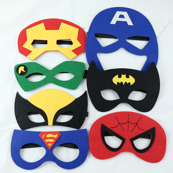 Superhero Masks Super Hero Theme Superman Birthday