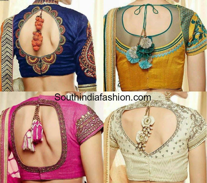 Latest Saree Blouse Designs For 2018 Blouse Neck Designs Latest Blouse Neck Designs Choli Designs