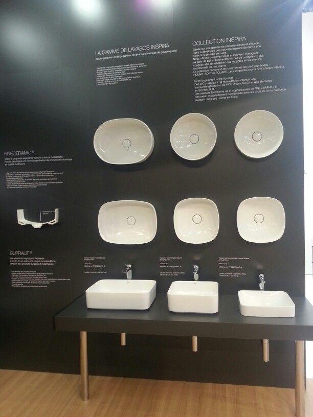 Ideo Bain Stand Roca Collection Inspira En Fineceramic Round Soft