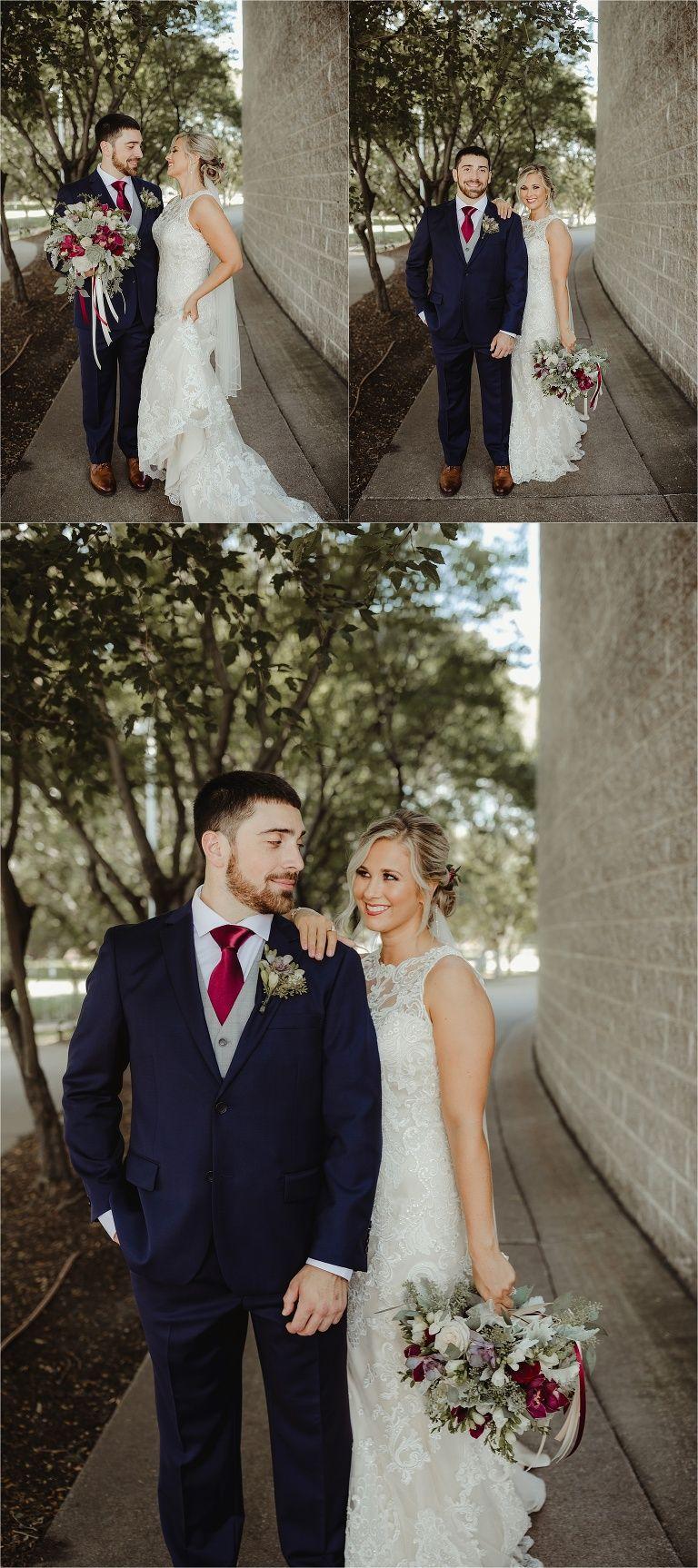 Bride And Groom Photos Quad Cities Wedding Taxslayer Center Moline