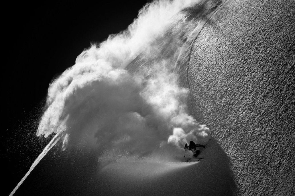The Daily Pow Riiiiipping Swiss Blower Backcountry