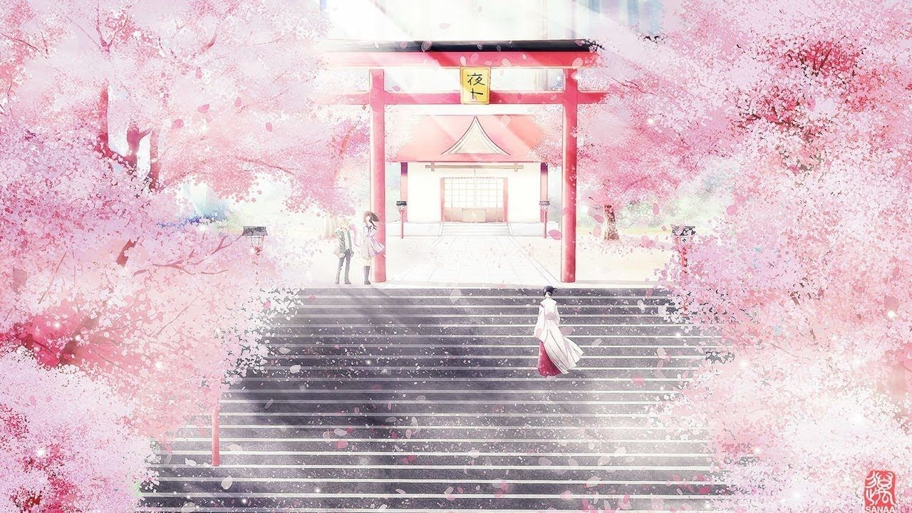 Beautiful Relaxing Music Best Sleep Music Peaceful Music Anime Cherry Blossom Anime Scenery Wallpaper Anime Backgrounds Wallpapers