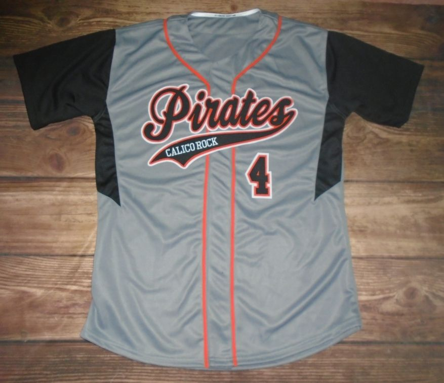 313697ecf8a Calico Rock Pirates Baseball custom jersey created at Lockeroom Inc. in  Mountain Home, AR! Create your own custom uniforms at www.garbathletics.com!