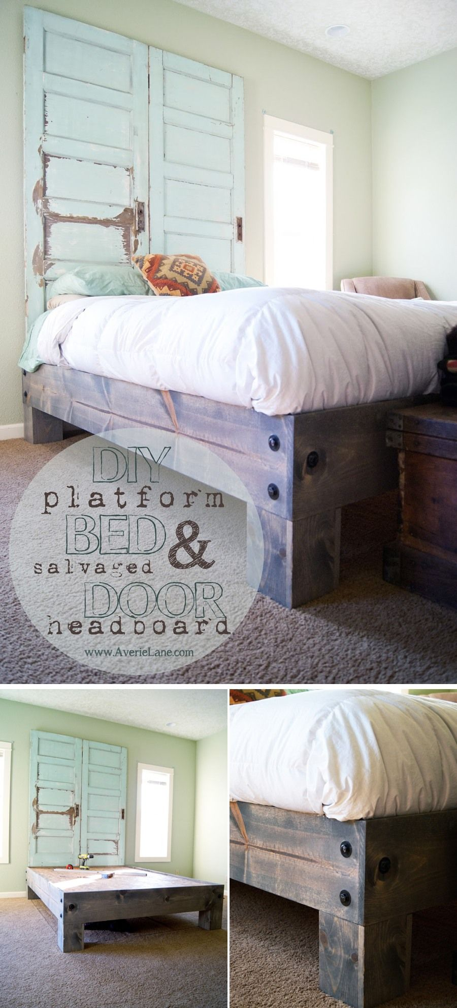 Photo of 36 Easy DIY Bed Frame Projects to Upgrade Your Bedroom Diy Home Decor, Diy Craft…