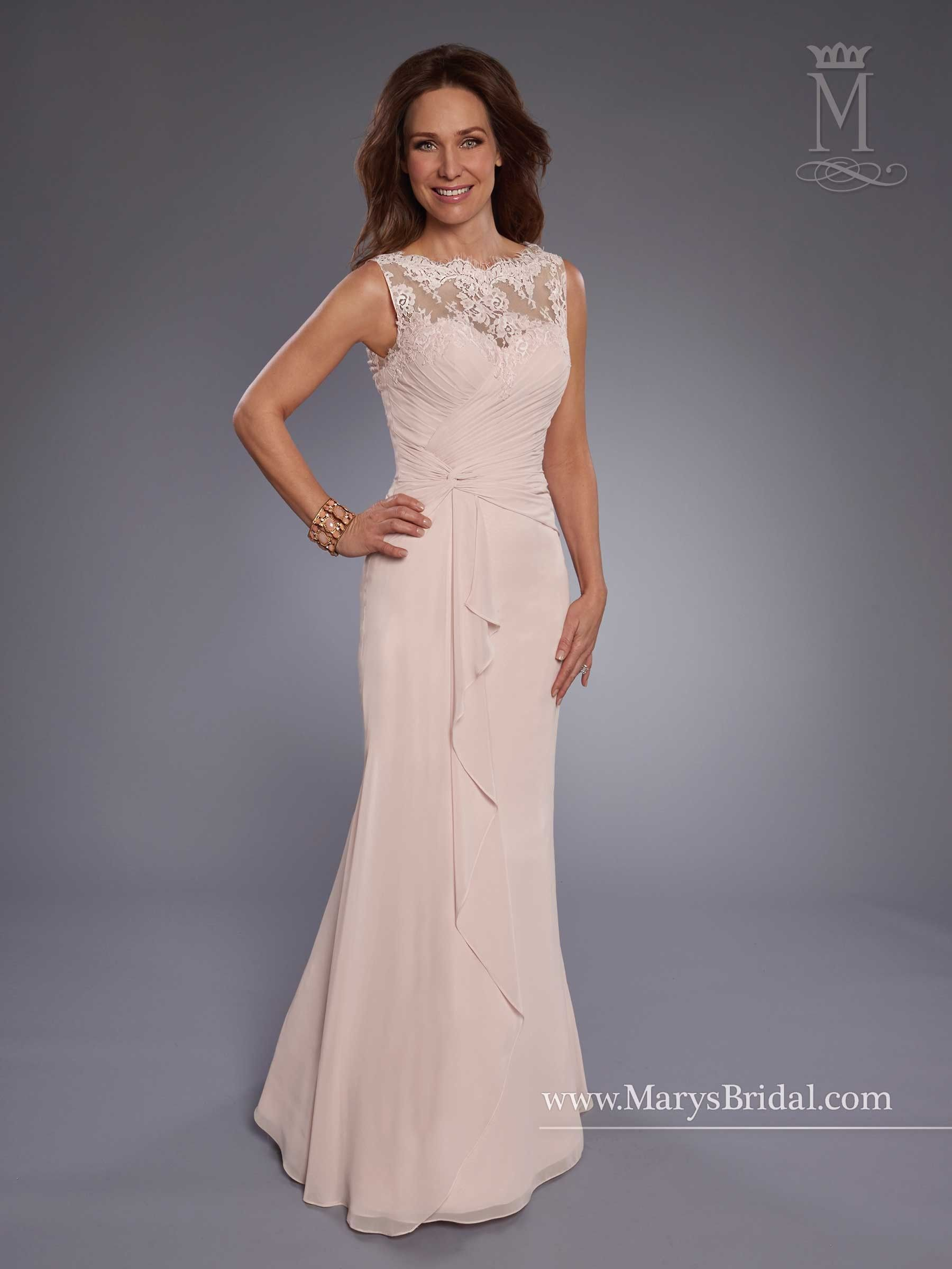 89e0d2aa7ea Marys Bridal M2742 Sleeveless Mother of the Bride Gown