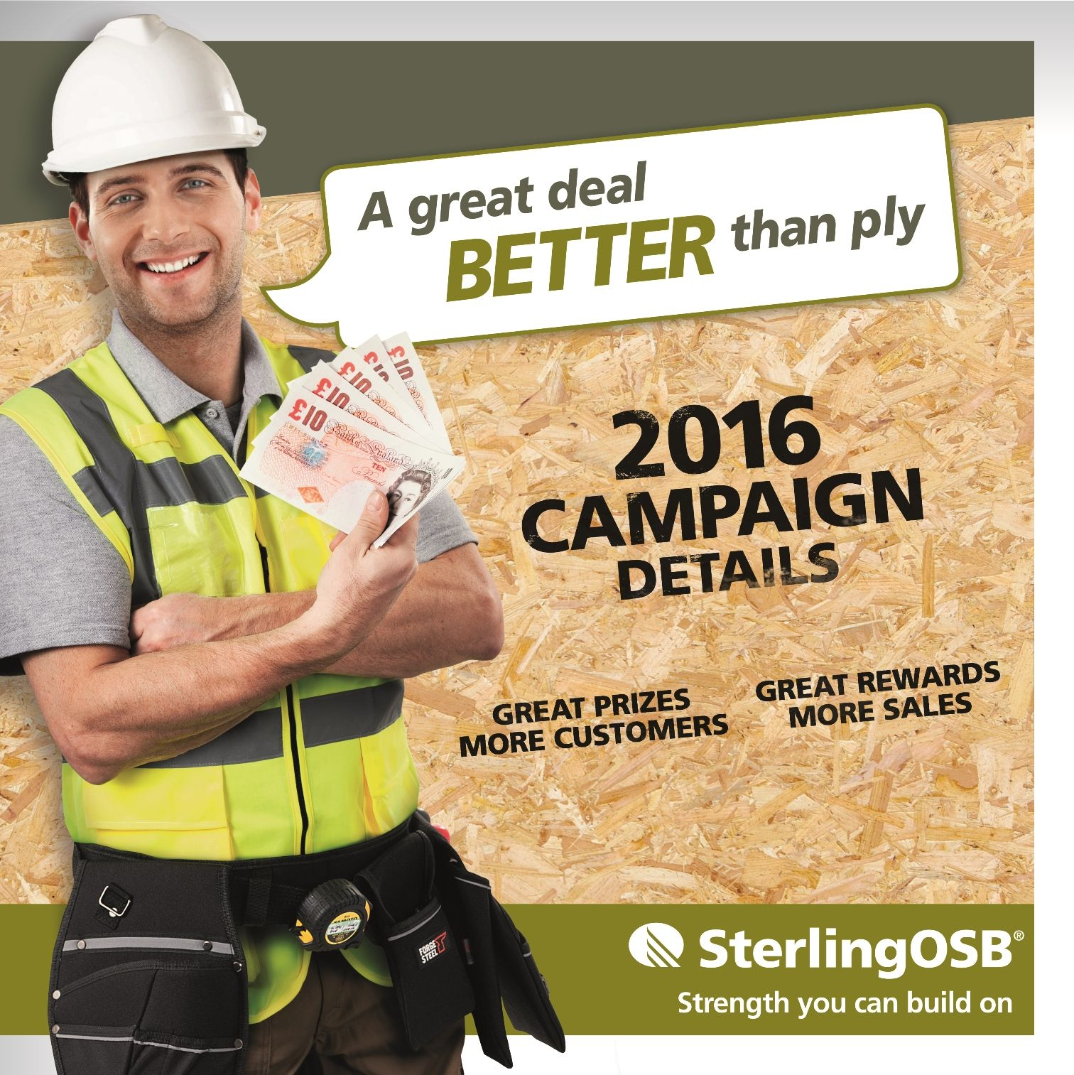 Norbord kicks off 2016 with new nationwide SterlingOSB