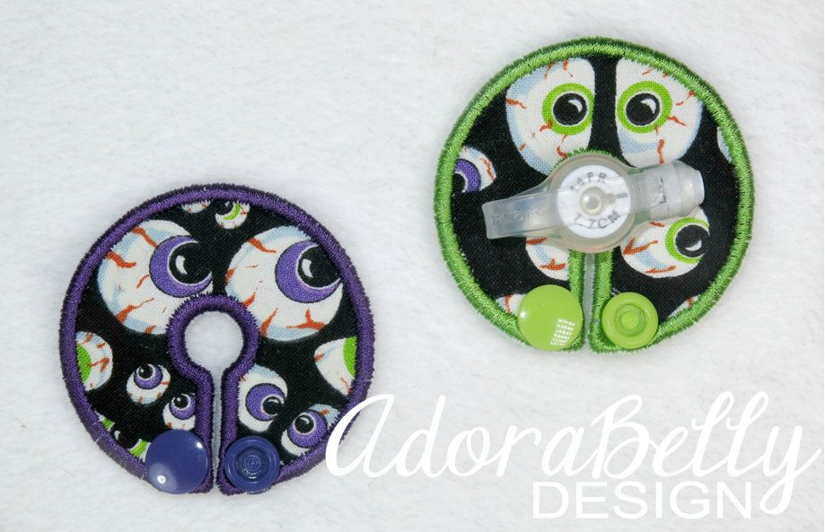 Halloween Scary Eyes Gtube Covers Gtube Pads Mic-Key Mickey Button Eyeballs by AdorabellyDesign on Etsy