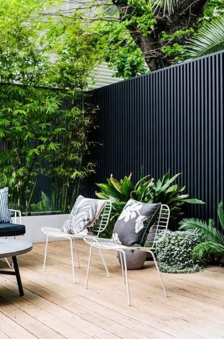 Best Garden Fence Modern Colour Ideas