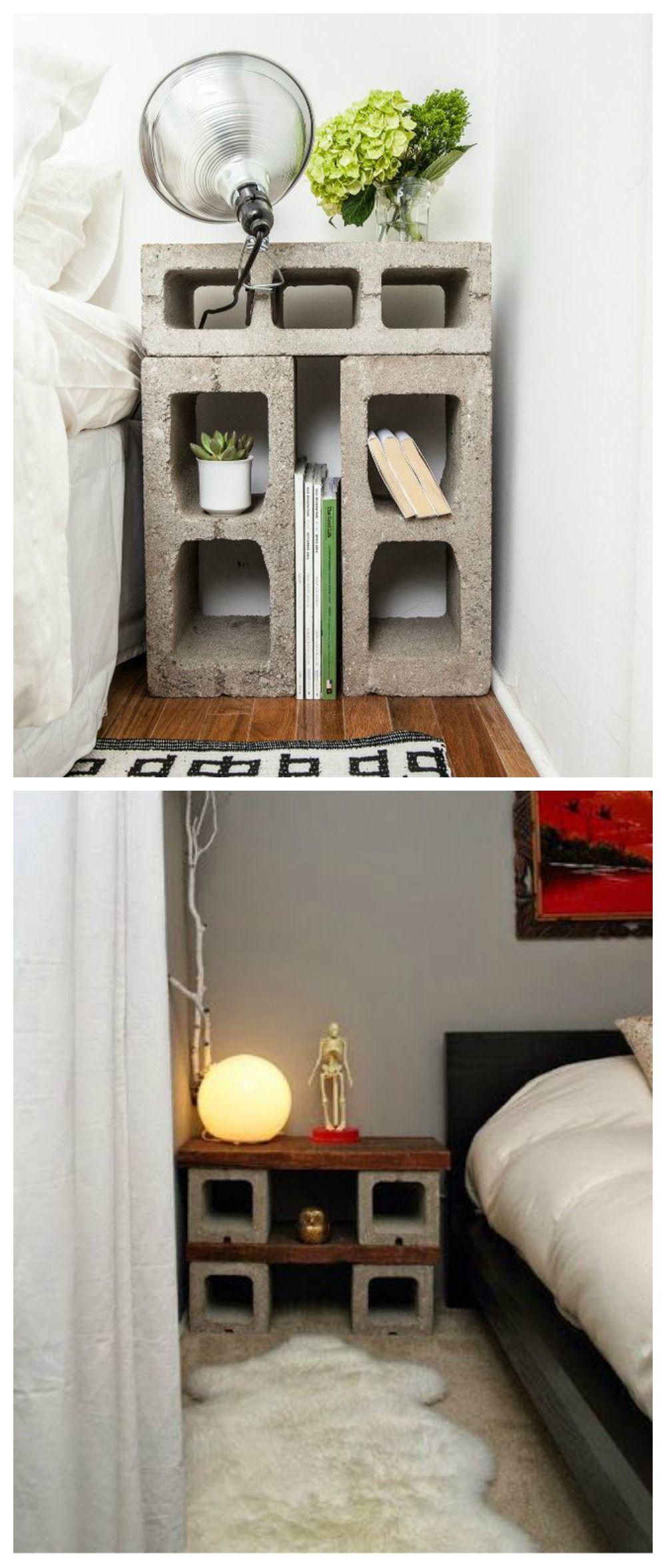 Muebles Con Bloques De Hormigón Decoracion De Interiores Decoración De Unas Muebles De Bloques De Hormigón