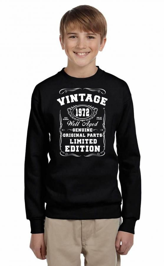 well aged original parts limited edition 1972 Youth Sweatshirt