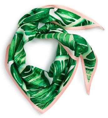 a8e81d947 Women's Echo Palm Silk Scarf. Tie it to a bag to give it new life, wear it  around your neck or in your hair. Multiple use accessories are great for  travel ...