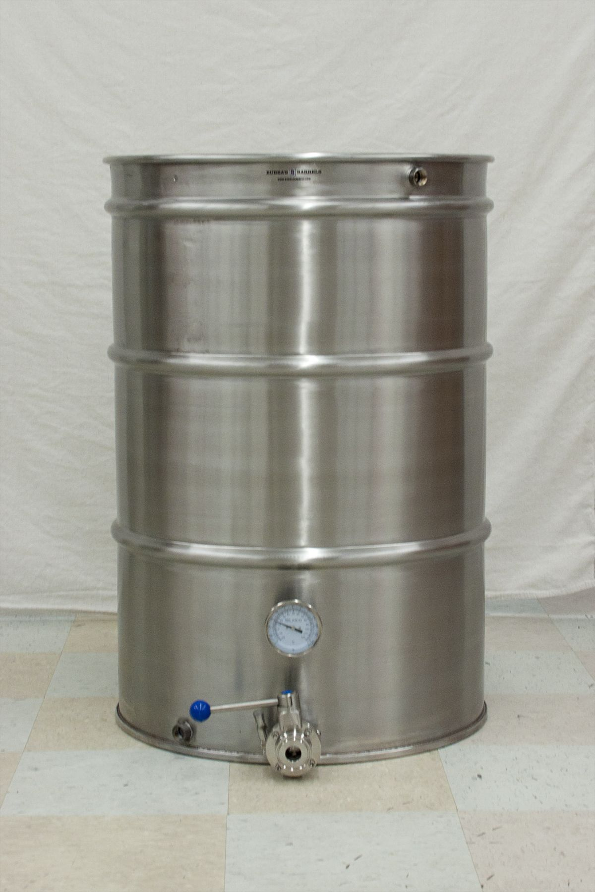 55 Gallon Brew Kettle Bubba S Barrels Kombucha Home Brewing Equipment Brewing