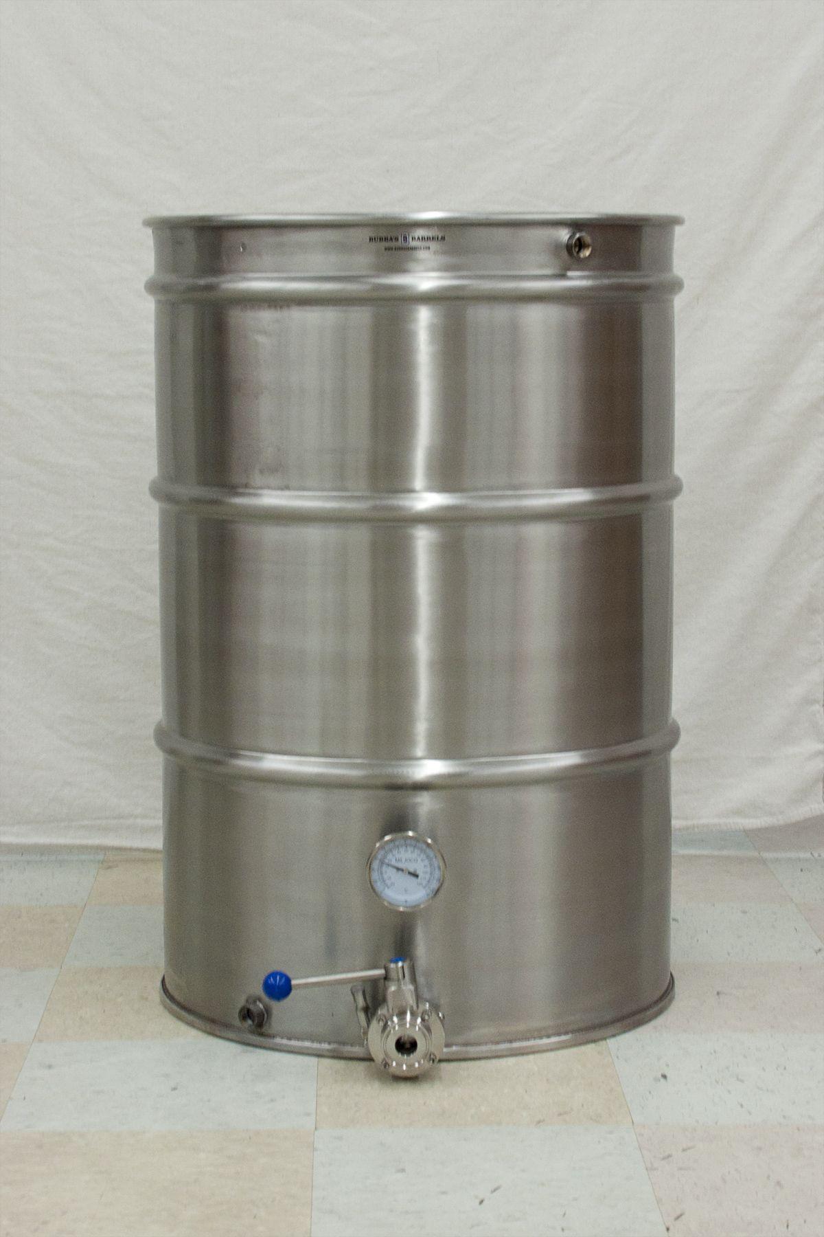 55 Gallon Brew Kettle Bubba S Barrels Kombucha Home Brewing Equipment Brewing