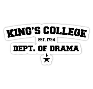 King S College Hamilton By Sabrina Sanchez King S College College Stickers King