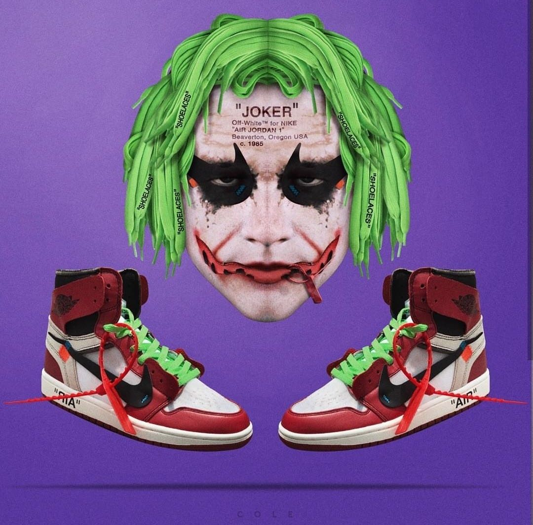 77d9568353f12c Joaquin Phoenix or Heath Ledger as The Joker  Comment Below! Remastered  Off-White