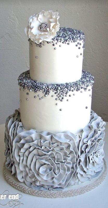 30 Ideias Para Uma Linda Festa De Bodas De Prata Wedding Cakes