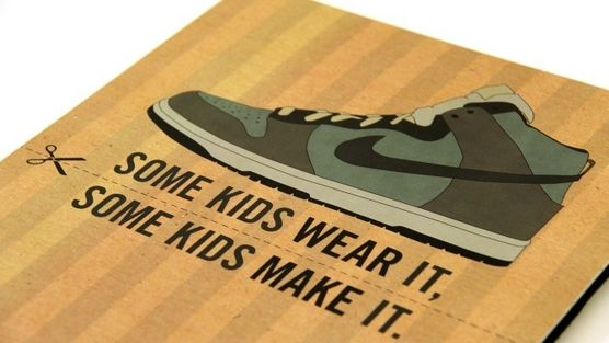 Nike: Get them to stop using child labour. I need to look into this