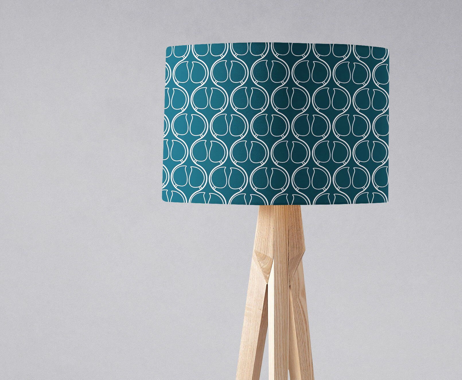 Navy Blue Lampshade, Navy Blue Home Accents, Navy Blue Decor,