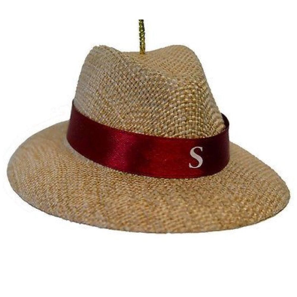Crimson Tide Nick Saban Alabama Christmas Ornament Hat Decoration ...