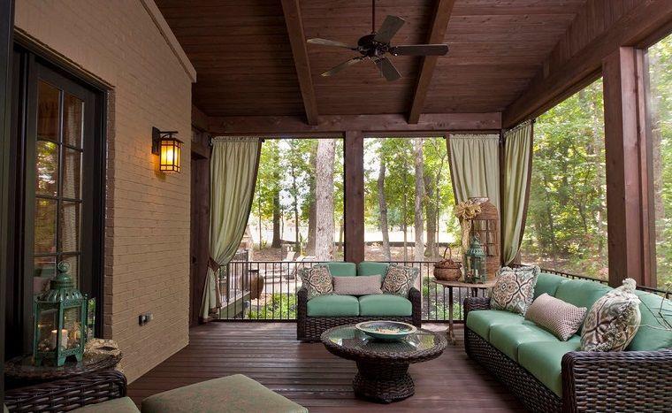 Diseños De Terrazas Cerradas Y Con Cubiertas Increíbles