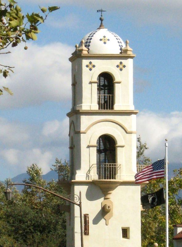 Ojai Valley Village  Bell Tower