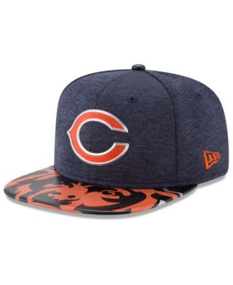 huge discount 873e9 d281a New Era Chicago Bears 2017 Draft 9FIFTY Snapback Cap - Navy Orange  Adjustable
